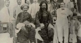 Ahmed Uthman with Sheik Mahmud Barzanji in Sulaymaniyah in 1927